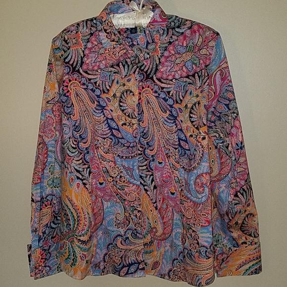 Lands' End long sleeve blouse
